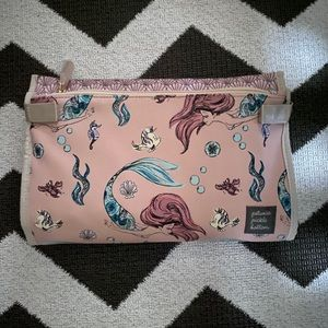 NWT Disney's little mermaid diaper clutch